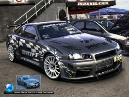 Nissan Skyline  GT-R by CapiDesign