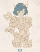 Butterfly_Lineart by makushiro
