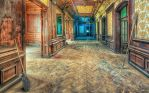 Abandoned School of Witchcraft and Wizardry by PatiMakowska