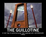 Guillotine motivational poster by stiky101