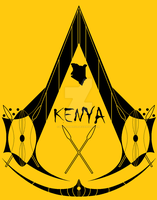 Kenyan Assassin Symbol by MehranPersia