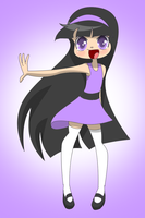 Violet in My Anime Style by jm08191998