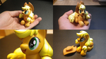 Apple Jack Sculpture1 by fromamida
