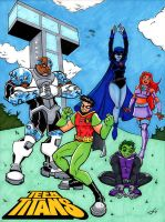 Teen Titans by The-Standard