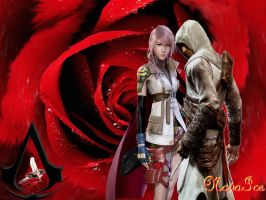 Lightning and Altair by KeeperNovaIce