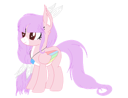 Kawaii Feather Pony - Offer To Adopt - CLOSED by CutiePiesAdopts