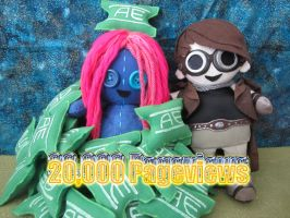 20,000 Pageviews by Rei2jewels