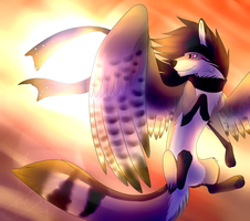 Sun and Wings by Mitsuki-wolf