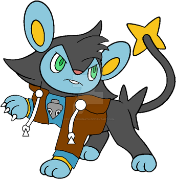 Humphrey the Luxio by ElectronTheShinx82