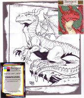 Red Dragon by Steevcomix