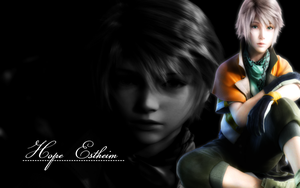 FFXIII - Hope wallpaper by Ekumimi