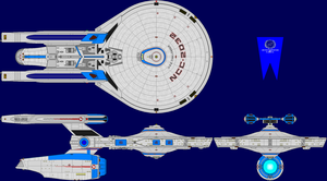 USS Challenger Hybrid Multi-View by captshade