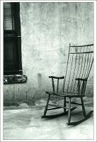 Chair and Wall by ladyjaida