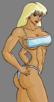 Denise fully colored by tj-caris