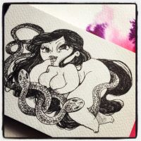 snakes and girls by MissPATYcia