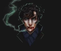 Sherlock - Smoking kills by Leventart