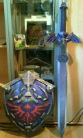 Legend of Zelda set by NEStalgicBlacksmitin