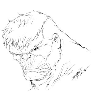 KEOWN-ESQUE HULK by jerkmonger