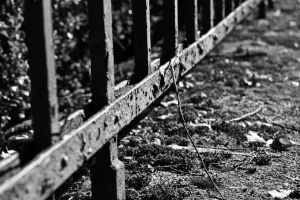 A fence and a stick by UdoChristmann