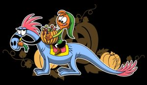 Happy Halloween from Wander by Goldy--Gry