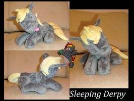Sleeping Derpy by Caleighs-World