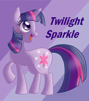 Twilight Sparkle by threshercakes