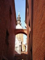 Church Path1 by Comacold-stock