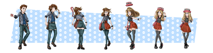 COMMISSION: Serena TG Sequence by FieryJinx