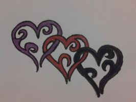 heart tribal tattoo by emmawhit