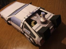 BTF Delorean model 1 by Allhallowseve31