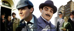 Holmes y Poirot Wallpaper by hnl