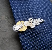 Tie Clip No Twenty-Six by AMechanicalMind