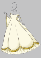 Dress Design 1 by WynterPhoenyx