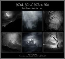 Black Metal Album Art 2 by wyldraven
