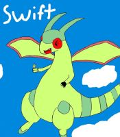 lol First attempt Flygon by Glamator