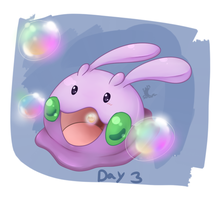 Day3: THE GOOOO by Sombrasaurus