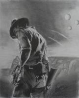 Cowboys and Aliens: by JEURO85