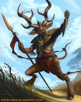 Kudu Beastmaster - Beast by FlammablePerson