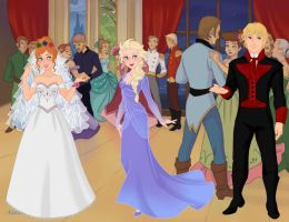 Anna and Kristoff Wedding by IndyGirl89