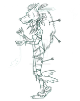 witchdoctor (unfinished) by Murder-Ball
