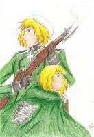 APH x SNK - Lookalikes by lupus-stellam