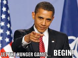 Let The Hunger Games... Begin! by DumbledoreIsAmazing