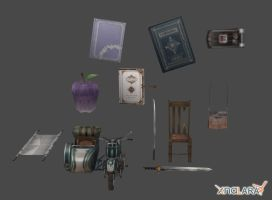 Crisis Core - Object Pack 2 by xHolyxLightx
