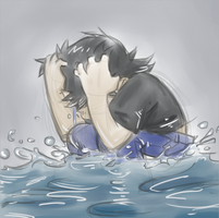 Dan Vs.: Crying an Ocean by Loeobot