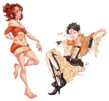 Snk Dresses by Redundantthoughts