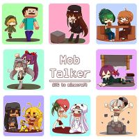 Chibi Mobs by patrickwright15