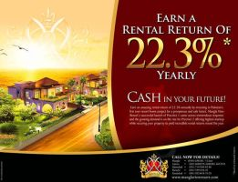 Mangala View Resort ad by creavity