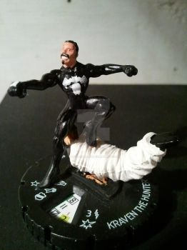 Kraven the Hunter Heroclix mod 2.0 by avatarswish