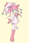 Sylveon Gijinka by kittystar123