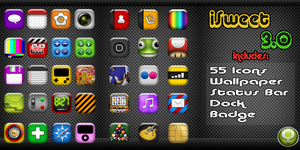 iSweet 3.0 Theme For iPhone by yrmybybl